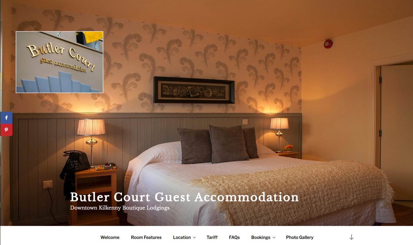 Butler Court guest accommodation downtown Kilkenny