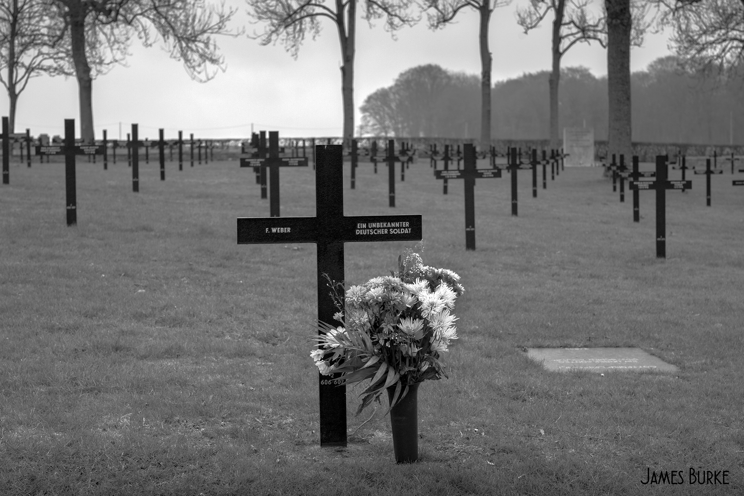 Fricourt German War Cemetery, Somme,