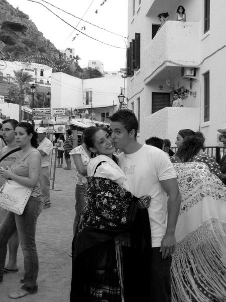Mojacar, Andalucía. Street Festival.